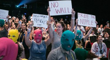 Galeria: Pussy Riot propõe protesto em Cannes
