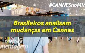 Vídeo: Brasileiros analisam mudanças em Cannes