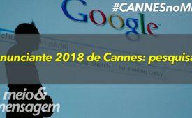 Anunciante 2018 de Cannes: pesquisar